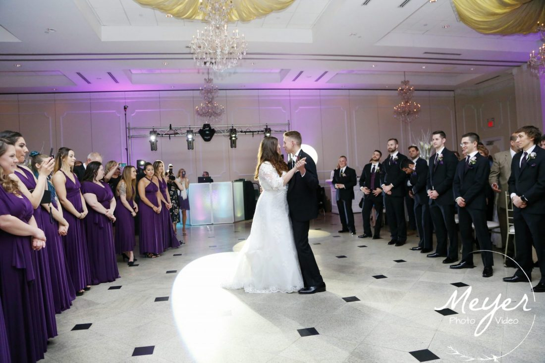 addison park wedding reception